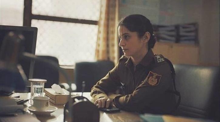 Rasika Dugal in Delhi Crime / Netflix India