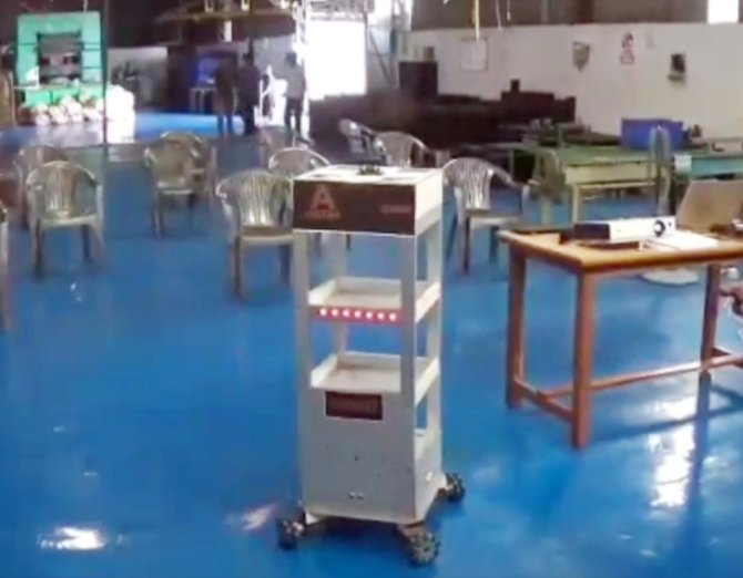 Jharkhand brothers robot