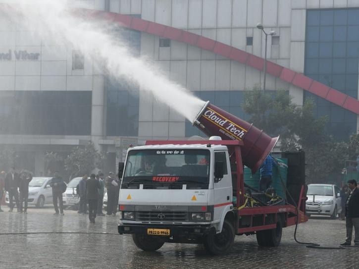 delhi smog gun