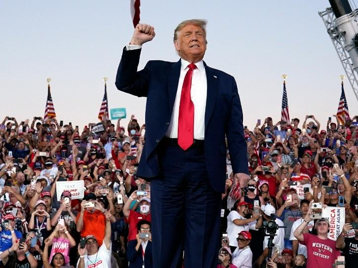 Speaking to his cheering supporters at an election rally in the key battleground State of North Carolina on Thursday, Trump said the US under his administration has achieved energy independence while protecting its pristine environment.