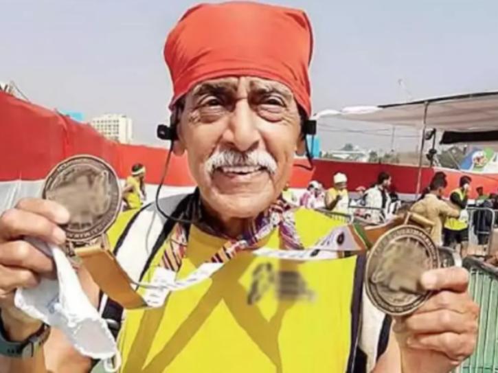 Mumbai man runs London marathon