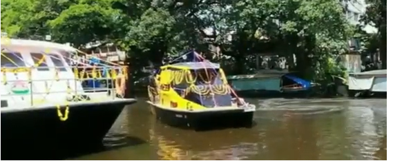 water taxi have been made by the same company that built Aditya
