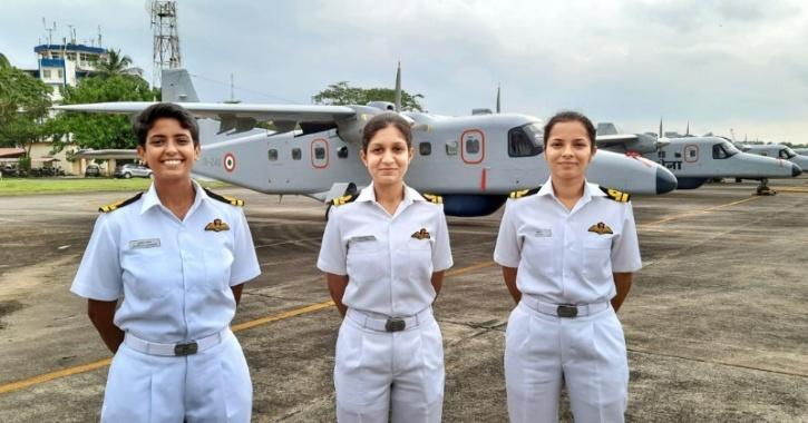First batch of women pilots