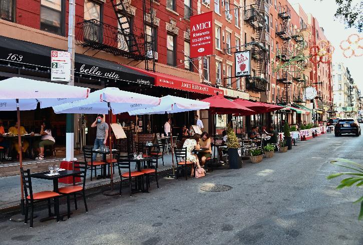 Outdoor dining Newyork