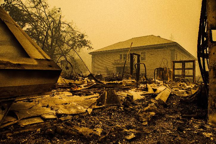 US wildfire oregon