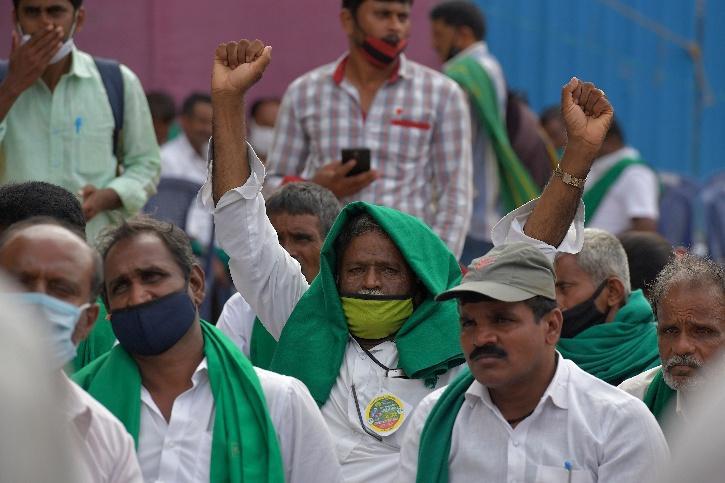 Farmers Protest, Karnataka Farmers Protest, APMC Act, Punjab Farmers Protest, Haryana Farmers Protest