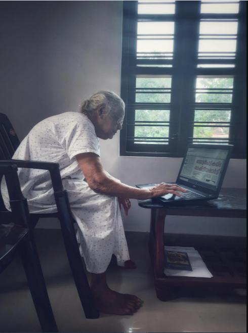 Kerala grandmother viral