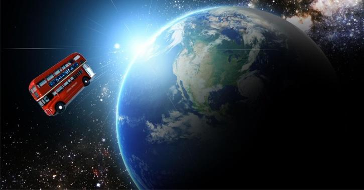the asteroid could be roughly the same size as a London bus!