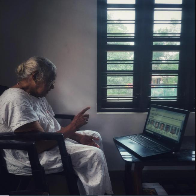 Viral Kerala grandmother