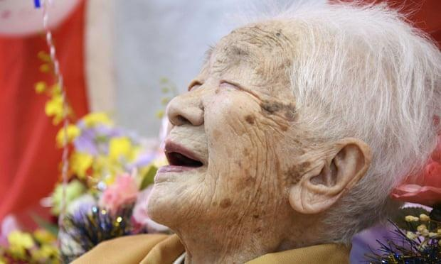 Kane Tanaka on 117th birthday