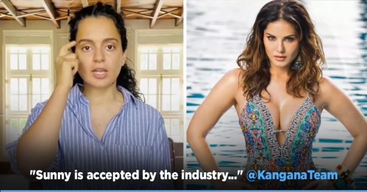 After Twitter Showers Support For Urmila, Kangana Cites Sunny Leone