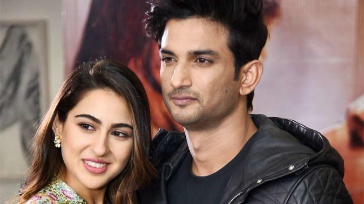 Sara Ali Khan and Sushant Singh Rajput / Instagram