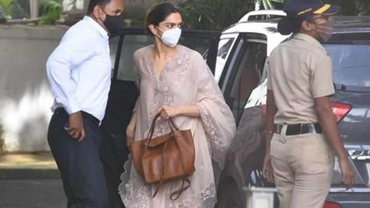Deepika Padukone arrives at NCB office for questioning / Agencies