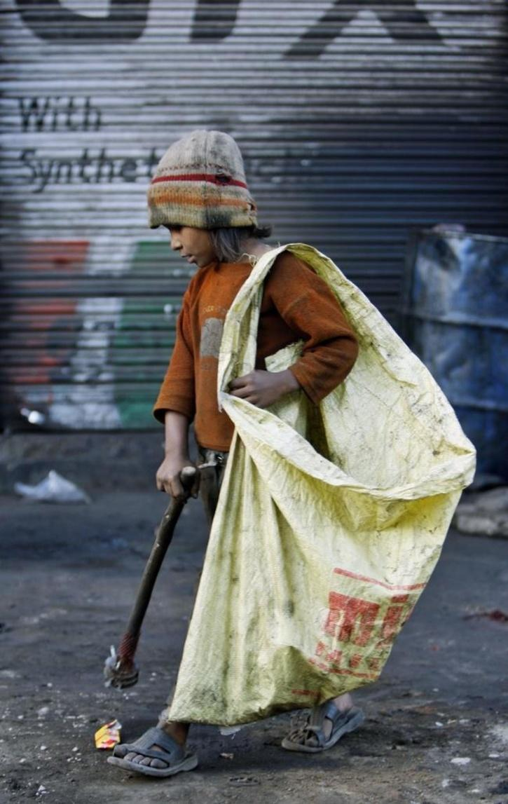 An estimated four million Indians work in filthy, dangerous conditions, as as
