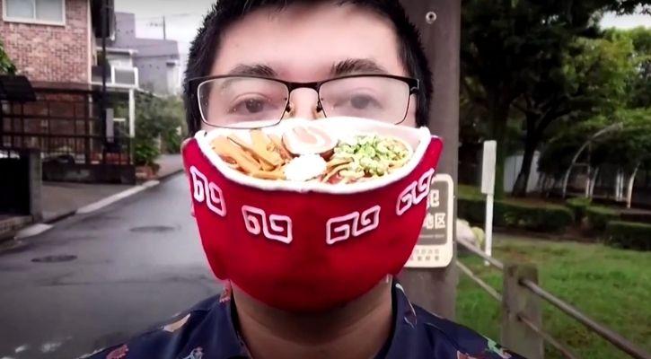 ramen face mask