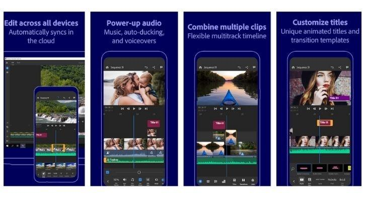 2. Adobe Premiere Rush: best video editing app for android