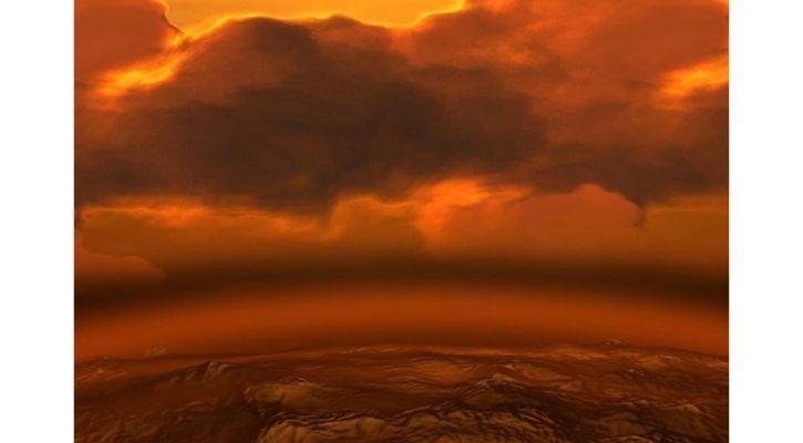 life on venus clouds phosphine gas