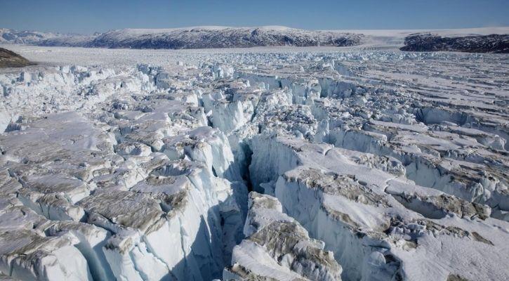 greenland ice shelf melt