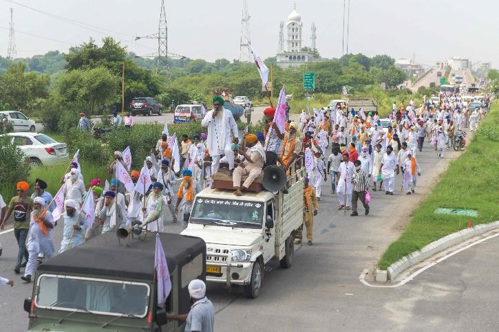 Farmers Protest, Farmers Protests Punjab, Haryana Farmers Protest, Farmers