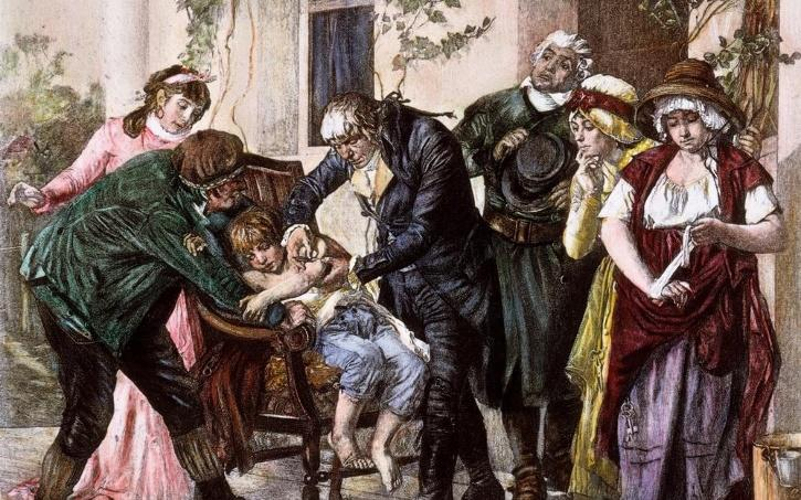 Edward Jenner Small Pox Vaccine