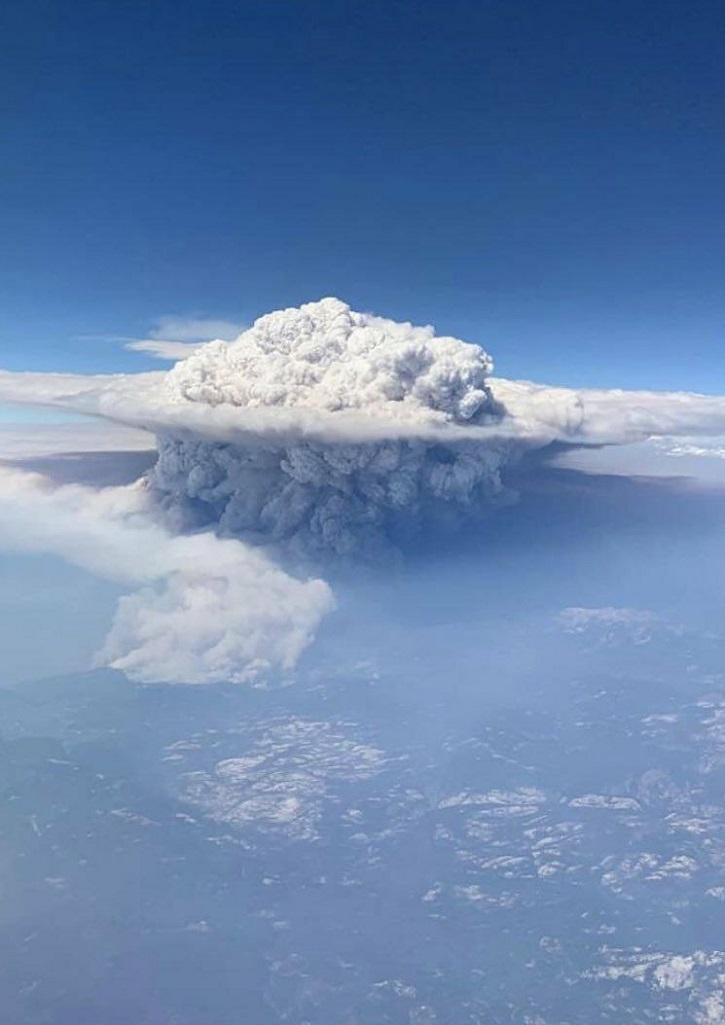 pyrocumulonimbus cloud