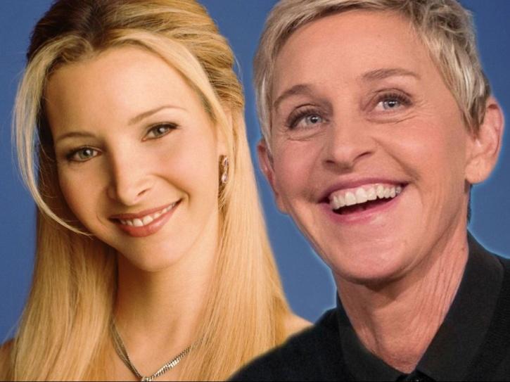 Ellen DeGeneres as phoebe.