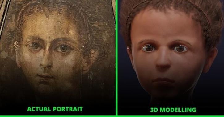 egyptian roman mummy