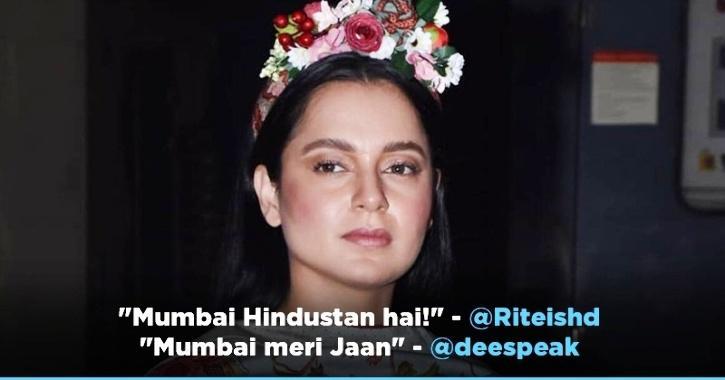 Bollywood Celebs Shower Love Upon Mumbai After Kangana Ranaut