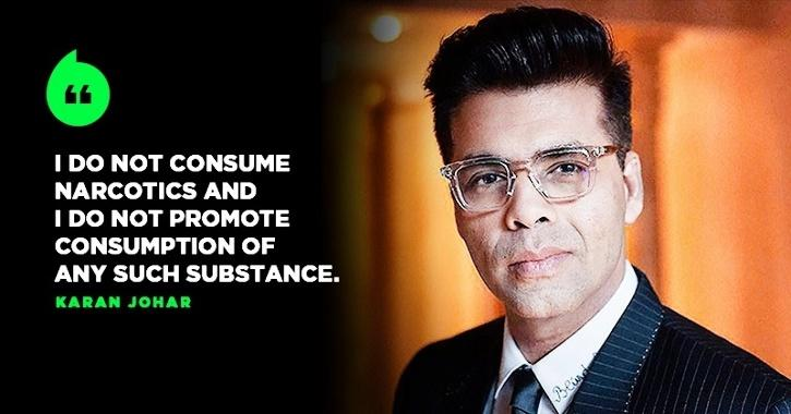 Karan Johar Quashes All Allegations In His Statement, Denies Consumption Of Drugs At His Party