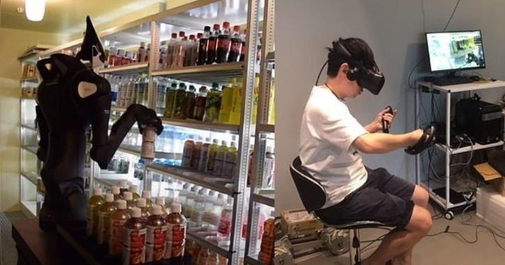 japan store robots