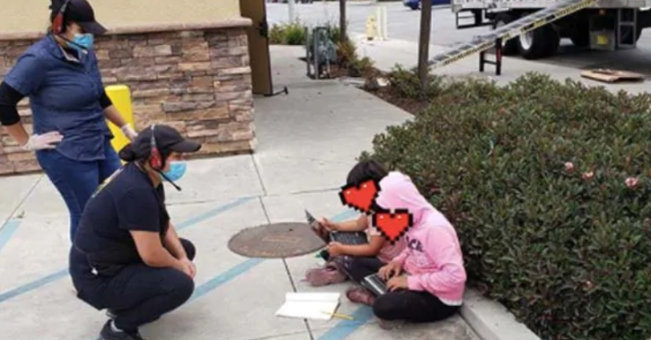 Funds Raised For Girls Photographed Using Restaurant WiFi To Do Homework