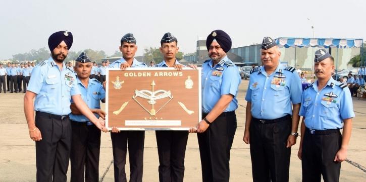 Indian Air Forces 'Golden Arrow' 17 Squadron reborn