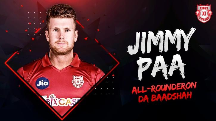Jimmy Neesham Kings XI Punjab