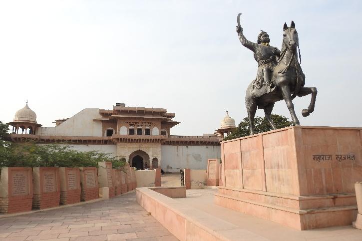 Mughal Museum, Mughal Museum Agra, Maharaja Surajmal,  Raja Jawahar Singh, Chhatrapati Shivaji Maharaj Museum