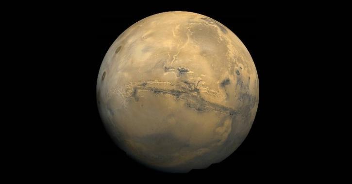 Mars underground water bodies