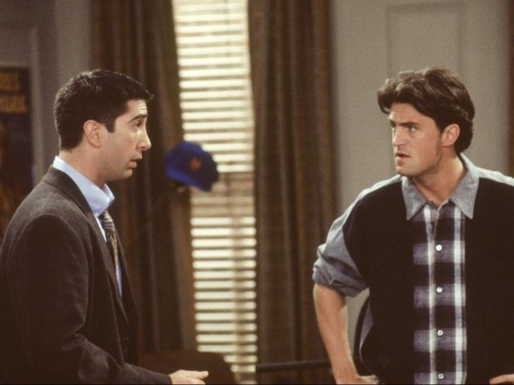 Matthew Perry in the first episode of FRIENDS.