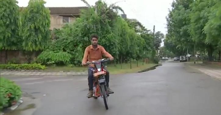 Chandigarh Class 10 Student, Self Built Motorcycle, Recycle, Motorcycle Parts, India News, Auto News