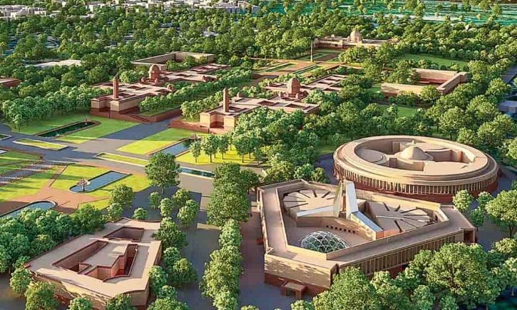central vista, central vista Project, New central vista, New Parliament Building, central vista Cost, central vista Design