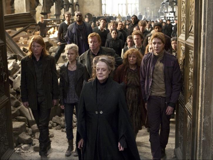 Prof McGonagall - Harry Potter
