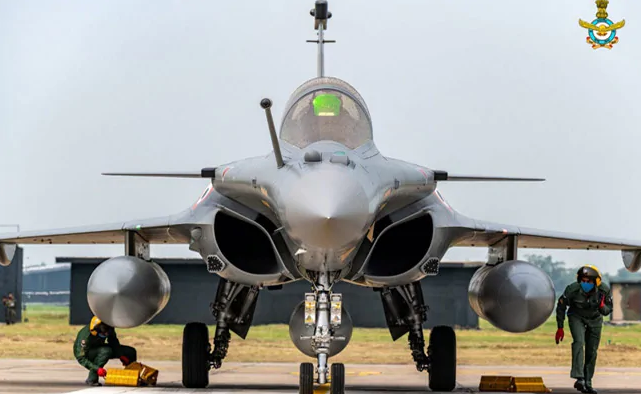 She will shortly become a formal part of the 17 Squadron, 'Golden Arrows' in Ambala.
