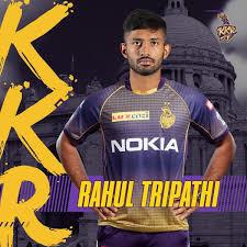Rahul Tripathi KKR