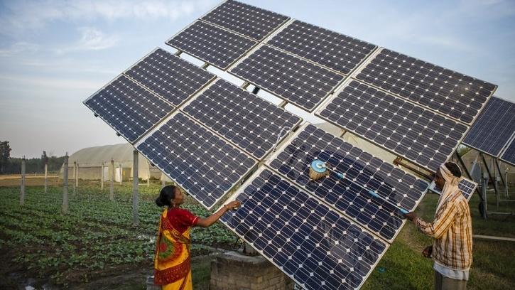 Solar Power Molecule Storage