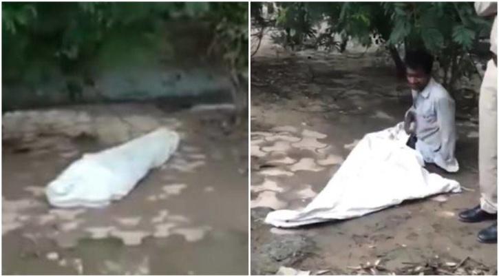 Body lying on roadside in Ghaziabad creates panic,