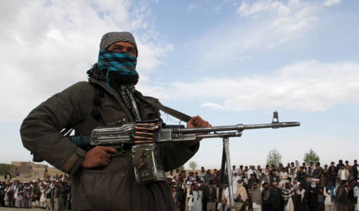 A member of the Taliban insurgent