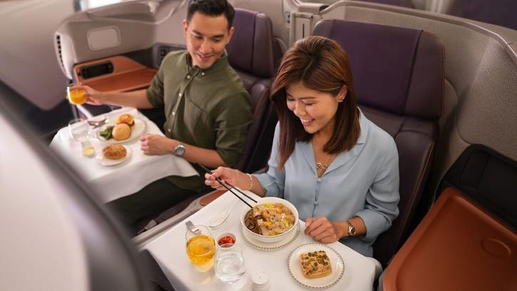 """Additional """"experiences"""" include the family-friendly tours of the Singapore Airlines training facility,"""