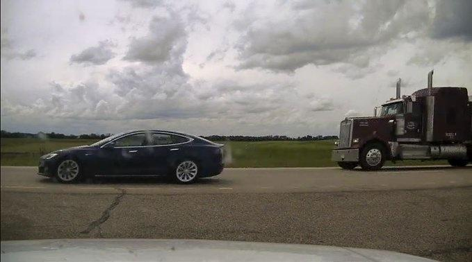 Canadian Driver Accused Of Using Tesla Autopilot While Sleeping