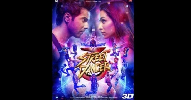 The highest grossing bollywood movie - street dancer