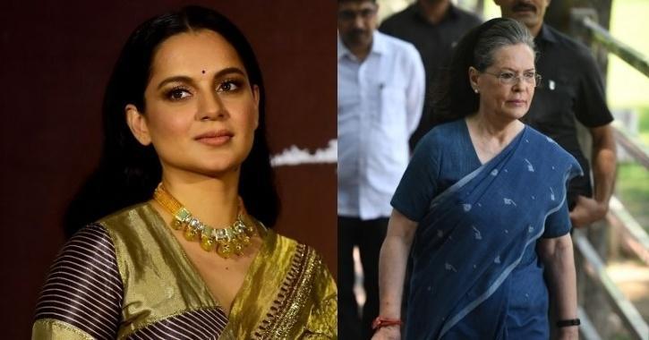 Sonia Gandhi, Kangana Ranuat