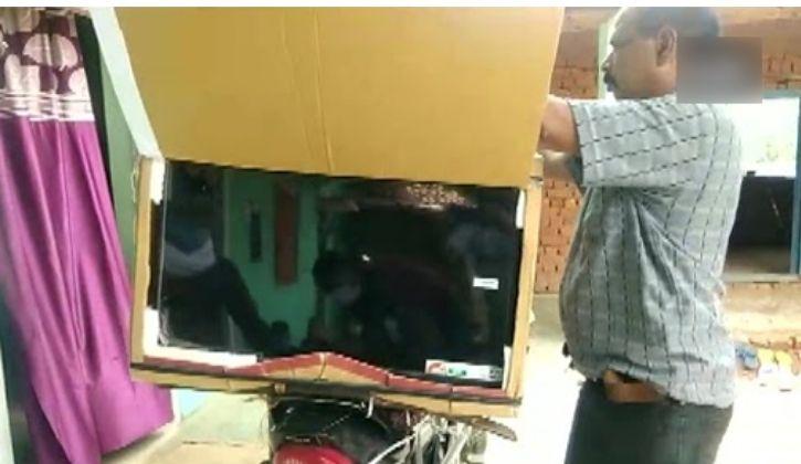 cinema wale babu teacher innovative idea