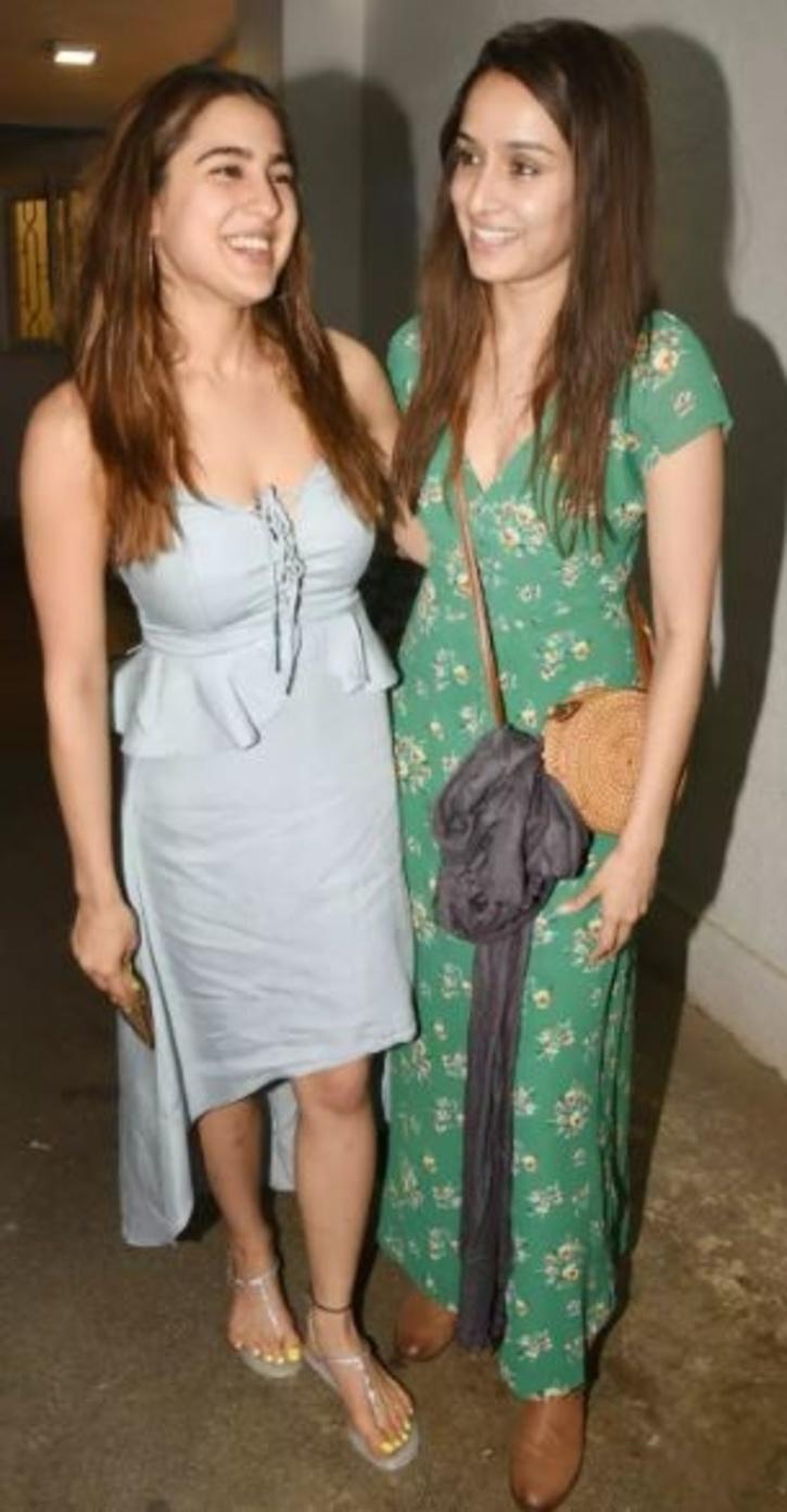 Sara Ali Khan and Shraddha Kapoor / Agencies